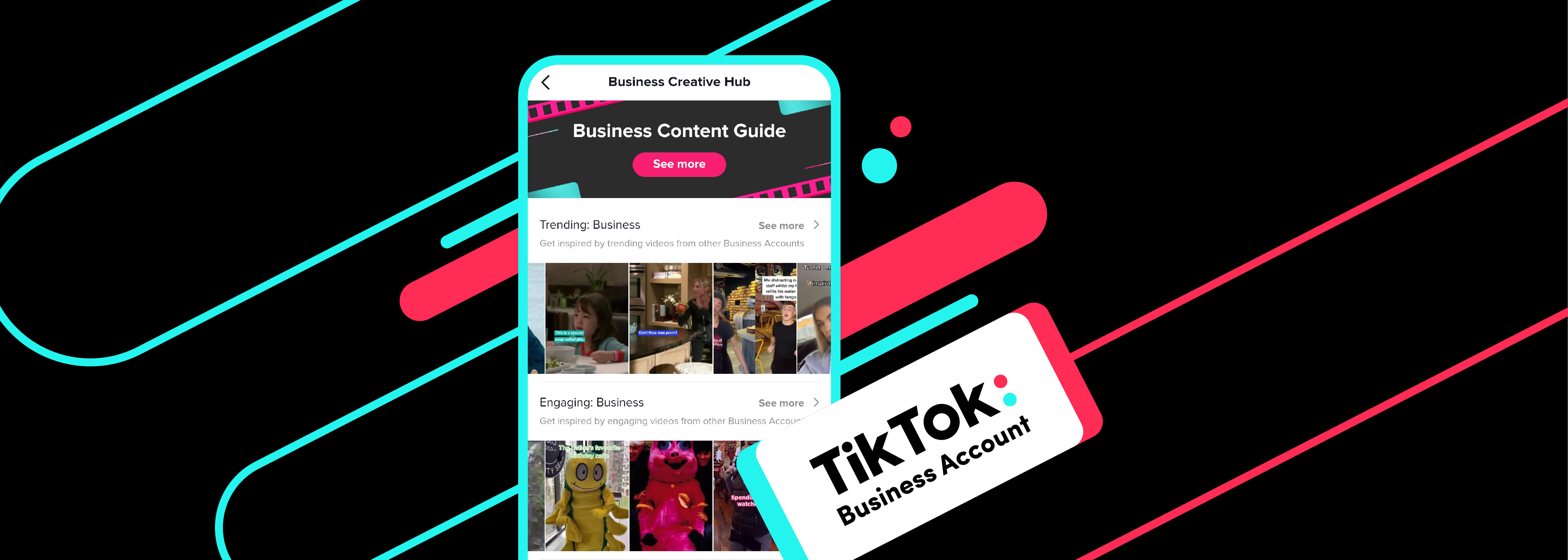 Introducing Business Creative Hub: Content inspiration at your fingertips |  TikTok For Business 博客